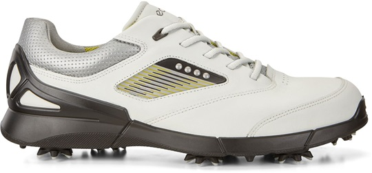 Ecco Golf Base One Mens Golf Shoes, White/Black